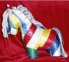 Ribbon Horse--DIY Nation: Ribbon recycling « HORSE NATION