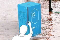 Life Box disaster shelter can be air-dropped, turned into a raft and built in one minute (Wired UK)