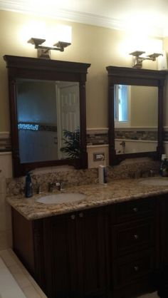 Double sink vanity my style my house