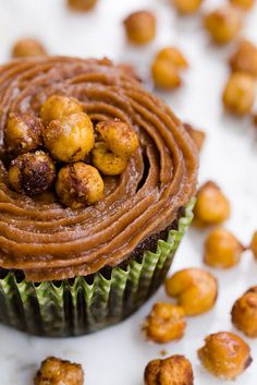 Gluten-Free Chocolate Cupcakes Made With Garbanzo Bean Flour - My Best Gluten-Free Cupcakes To Date