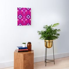 Playful Cute and Bold Pink and Purple Girly Artwork Print Mounted Print #artwork #girly #canvas #print #pink #purple #home #decor Blue Dream, Ornaments Design, Vintage Ornaments, Golden Pattern, Golden Design, Turquoise Background, Fractal Design, Moroccan Design, Purple Backgrounds