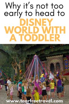 Many parents believe taking their toddler to Disney World is way too early of an age. Parents fear their children won't remember it, won't have anything their age to do, or will not make it through the whole experience. However, I have taken my toddler to Disney World, and it was the best decision I ever made! Here is why Disney World with toddlers is still an awesome vacation! Disney Hotels, Walt Disney World Vacations, Best Vacations, Disney World With Toddlers, Disney With A Toddler, Packing List For Disney, Disney Cruise Tips, Dumbo The Flying Elephant, Disney World Tips And Tricks
