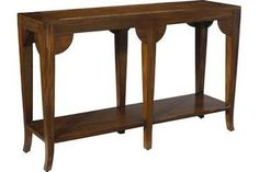 Console Table FRENCH HERITAGE URBAN BELLEVUE Acorn Cherry New 1-Shelf FH-909