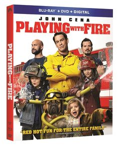 Playing with Fire is a funny, family friendly movie that people of all ages will enjoy. It stars John Cena, Keegan-Michael Key, John Leguziamo, Tyler Mane and Judy Greer. Family Movie Night, Family Movies, New Movies, Funny Family, Michael Sheen, John Cena, Laugh Out Loud Movies, Tyler Mane, Dennis Haysbert