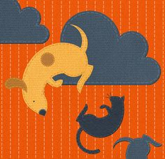 It's raining...; Zara Picken Illustration