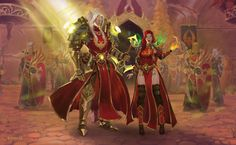 Silvos and Leyloria by Noir-snow on DeviantArt World Of Warcraft Paladin, World Of Warcraft Game, World Of Warcraft Characters, Warcraft 3, Fantasy Characters, Rune Knight, Wow World, Snow Images, Blood Elf