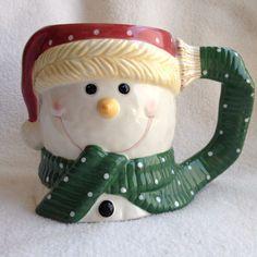 Yankee Candle Snowman Coffee Mug 16 fl oz Cup Ceramic Christmas Scarf Tea Cocoa | Collectibles, Holiday & Seasonal, Christmas: Current (1991-Now) | eBay!