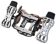 There's a new controller in town, and it doesn't just input. Yaw, it celebrates it:  the MFG Crosswind Rudder Pedals.