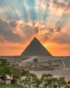 Piramide de Gizah, Egipto.