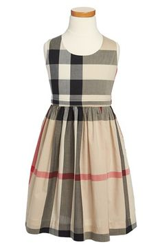 Burberry 'Anny' Sleeveless Dress (Little Girls & Big Girls) available at #Nordstrom