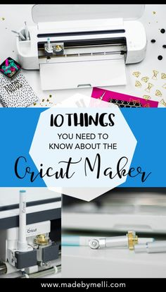 I'm so excited to introduce you to the ultimate cutting machine on the market. For sewists, crafters, and all kinds of makers alike – it doesn't get much better tha… - Joy Corbin - How To Use Cricut, Cricut Help, Cricut Craft Room, Cricut Vinyl, Cricut Air, Cricket Machine, Cricut Tutorials, Cricut Ideas, Circuit Crafts