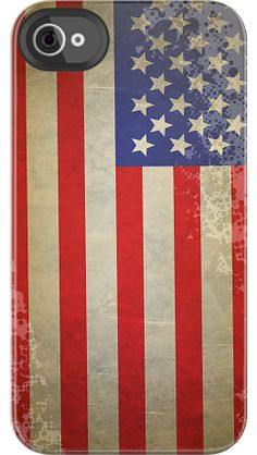"""USA Vintage"" by Uncommon for the iPhone 4/4S Deflector"