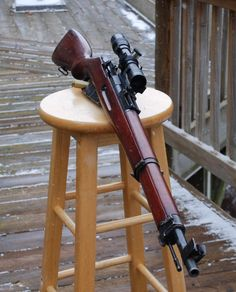 M39 A Finnish Mosin Nagant with a PEM side-mounted scope. This one isn't an actual wartime example, rather a regular M39 with either a reproduction or possibly an actual PEM mount and scope. Genuine...