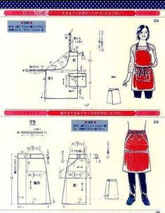 Dress Sewing Patterns, Clothing Patterns, Pattern Sewing, Toddlers And Tiaras, Kitchen Aprons, Free Sewing, Blog, Clothes, Japan