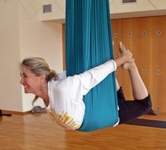 Arial Yoga - wish I could find a CT studio to give this a try!