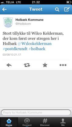 Holbæk Kommuner med aktuel og relevant opdatering på dagen hvor PostDanmark Rundt rammer kommunen.