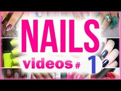 Nail Art Designs compilation #1 - YouTube
