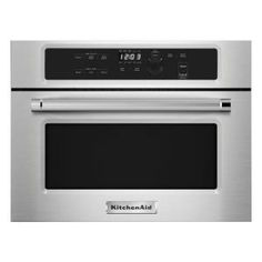 KitchenAid 1.4 cu. ft. Built-In Microwave in Stainless Steel-KMBS104ESS - The Home Depot