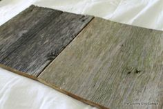 old barn wood for great signs
