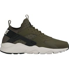 NIKE AIR HUARACHE RUN ULTRA OLIVE CARGO KHAKI size 11 DS #Nike #AthleticSneakers