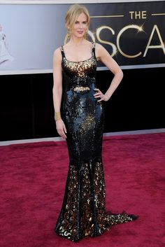 Nicole Kidman in Arrivals at the 85th Annual Academy Awards