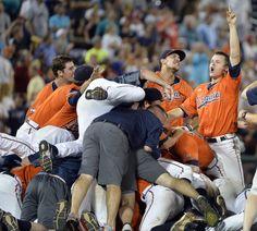 College World Series 2015: Virginia wins national title with 4-2 win over ... Vanderbilt baseball  #Vanderbiltbaseball