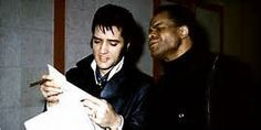 Elvis and James Brown