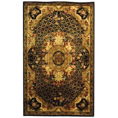 Safavieh Classic CL304A Black - Gold Area Rug   http://www.arearugstyles.com/safavieh-classic-cl304a-black-gold-area-rug.html