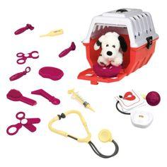 Kit de vétérinaire pour chien dalmatien