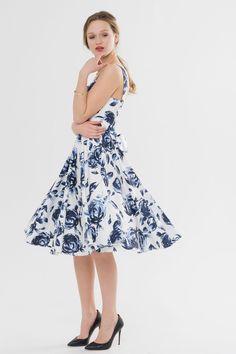 bdad013305c Suzy Shier Floral Satin Midi Dress