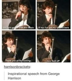 George is the man