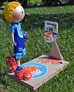 fofucho baloncesto, goma eva, foami