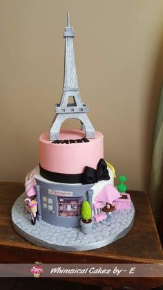 France theme cake