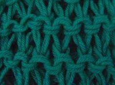 Resultado de imagen para puntos a palillos para bufandas