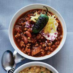 Vegetarian Chili Recipes: Can't-Believe-It's-Veggie Chili Recipe | CookingLight.com