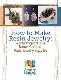 How to Make Resin Jewelry: 4 Free Projects, Plus a Bonus Guide to Resin Jewelry-Making Supplies - Jewelry Making Daily - Blogs - Jewelry Mak...