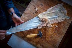 The Art of Turning Fish into Leather | Hakai Magazine Salmon Skin, Fish Scales, Food Industry, Artisan, Turning, Magazine, Ethnic Recipes, Leather, Bones