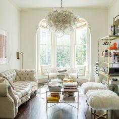 Spotted on Instagram - All white all right. {#interiordesign by @leannefordcreative ... #interiordesignshoppingguide #interiordesign #decor #robbandco