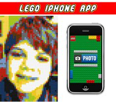Lego Iphone app!  Use this to take a picture of the birthday boy and print into poster to use as decoration.  Or use during the party and take pictures of all the guests, then print them out and send in thank you notes. Lego Movie Birthday, Boy Birthday Parties, Birthday Ideas, 7th Birthday, Kid Parties, Birthday Cakes, Lego Camera, Lego App, Lego Faces