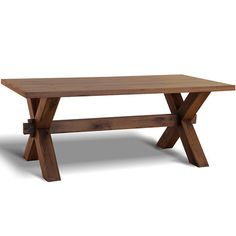 Crafted from solid wild oak, this made to order table is the perfect dining solution for both formal and casual schemes. Product: ...