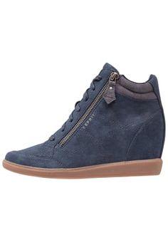 BLOMMA - Sneaker high - dark blue