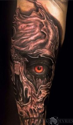 This tattoo sends chills up our spine.
