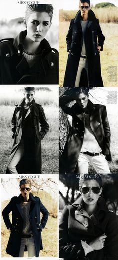 ~Classic coats in VOGUE PARIS   The House of Beccaria#
