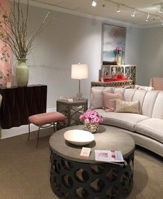 What's hot at High Point Fall Market 2015? Pops of pink...