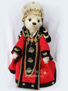 the great Queen seondeok teddy bear. I just love this!!! Gotta have!!!