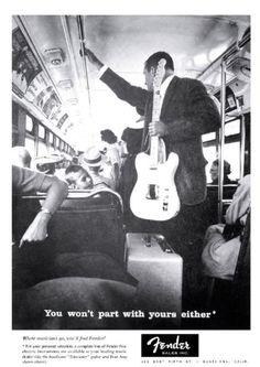 Fender bus ad