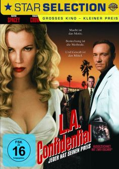 L. A. Confidential  1997 USA      IMDB Rating      8,4 (231.715)    Darsteller:      Kevin Spacey,      Russell Crowe,      Guy Pearce
