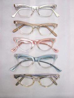 0a95c84de8c Such a fab collection vintage cateye sunglasses!    Rockabilly   Pin Up  Sunglasses   Retro Cat eye sunglasses