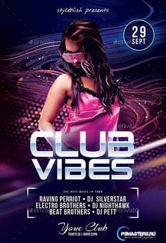GraphicRiver Club Vibes Flyer