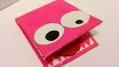 monster duct tape wallet (no tutorial, but it seems to be a regular duct tape wallet with extra embellishments)